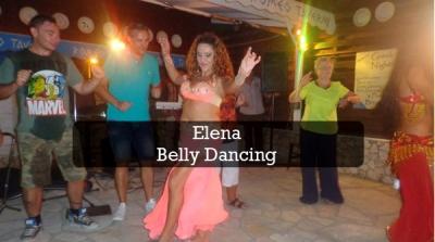 Elena belly dancing