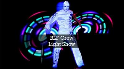 Light show - BLF Crew