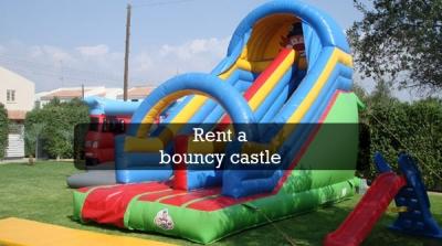 Bouncy castle rent