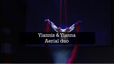 aerial duo