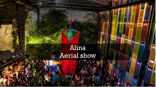 alina aerial show