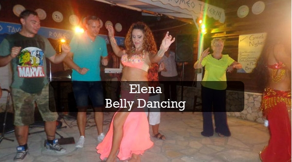 Elena belly dancing