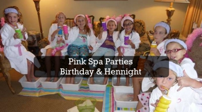 Pink Spa Parties